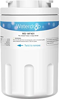 Waterdrop Refrigerator Water Filter, Compatible with Amana Clean N Clear WF401, WF40, 12527304, 46-9014, 469014