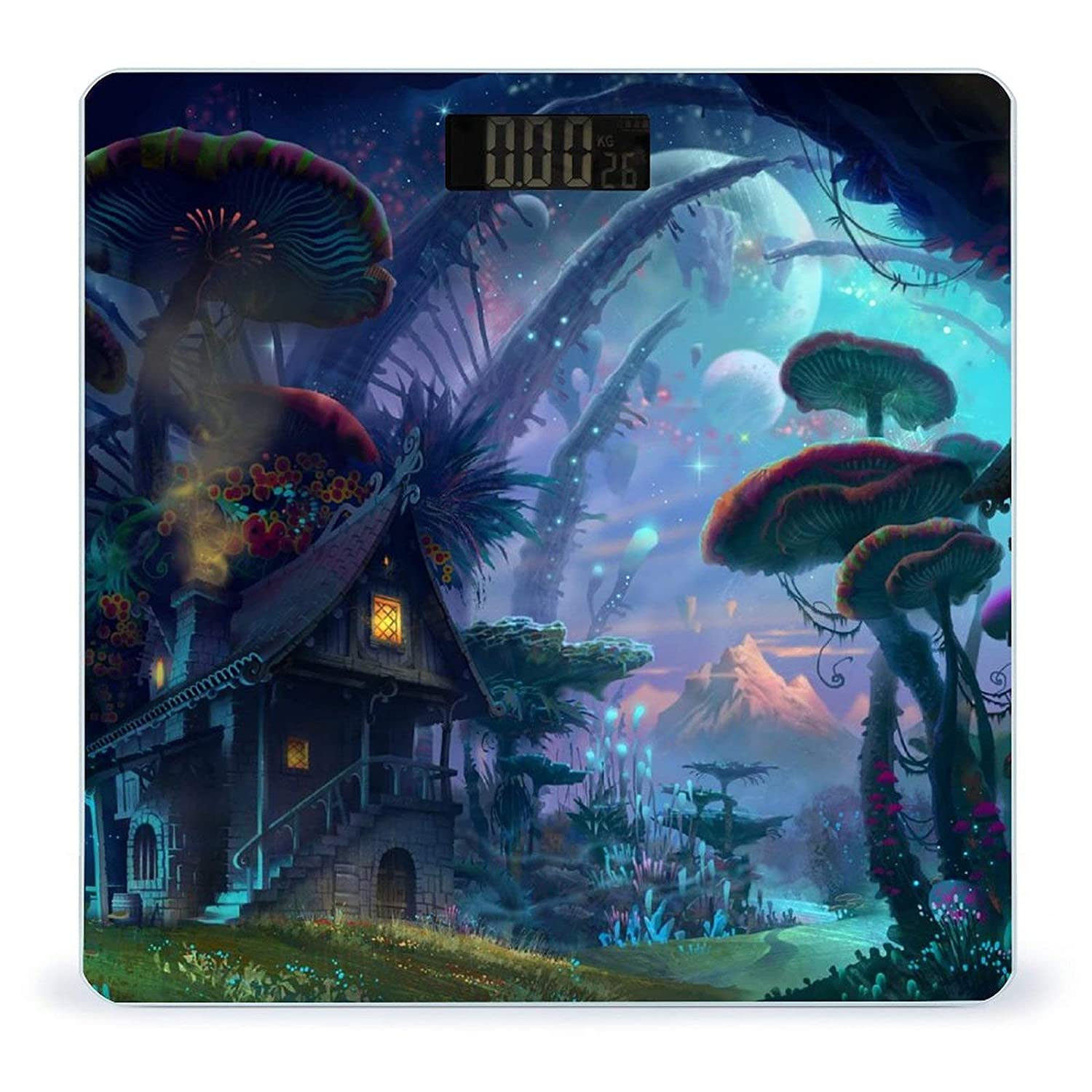67% OFF Max 85% OFF of fixed price Psychedelic Trippy-1Weight Scale Digital Di Body Battery-Powered