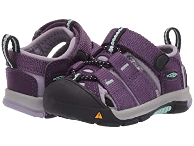 Keen Kids Newport H2 (Toddler) (Purple Pennant/Lavender Gray) Girls Shoes