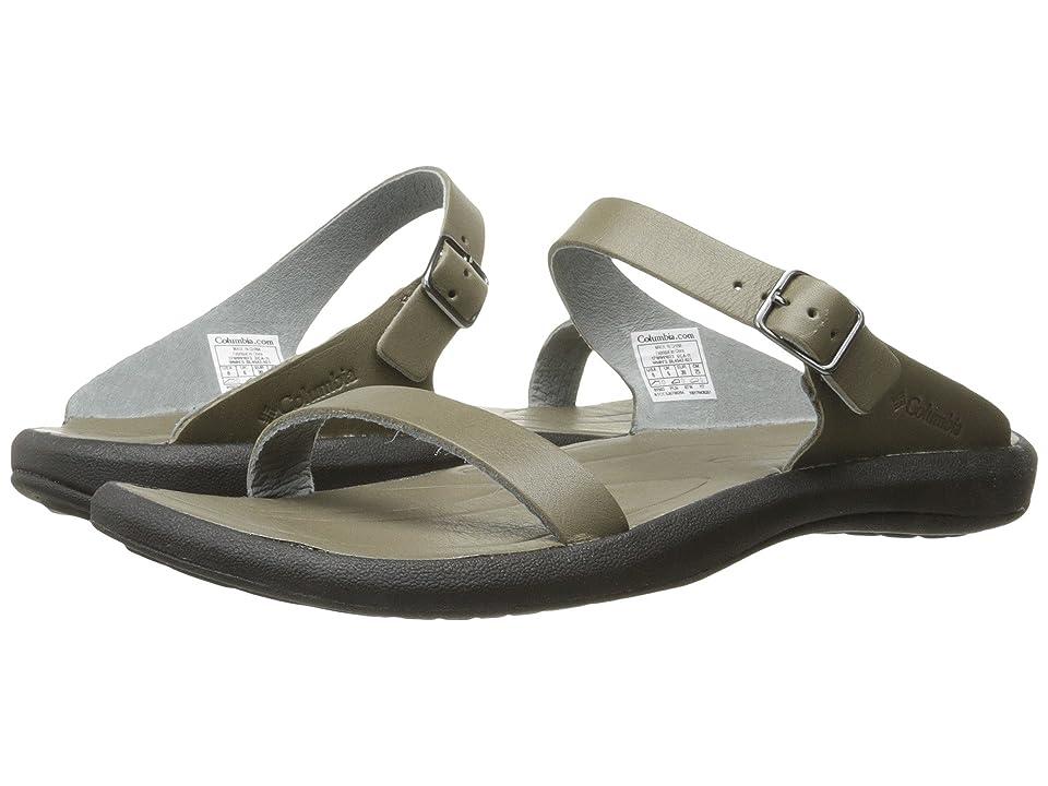 Columbia Caprizee Leather Slide (City Grey/Black) Women