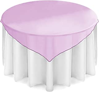 lavender table overlay
