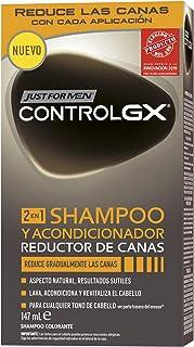 Just For Men Control GX - Champú y Acondicionador Reductor de Canas para Hombres - 147 ml
