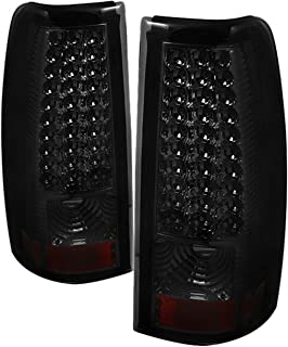 Spyder Auto ALT-ON-CS03-LED-SM Chevy Silverado 1500/2500/3500 and GMC Sierra 1500/2500/3500 Smoke LED Tail Light, Fleet Side Only
