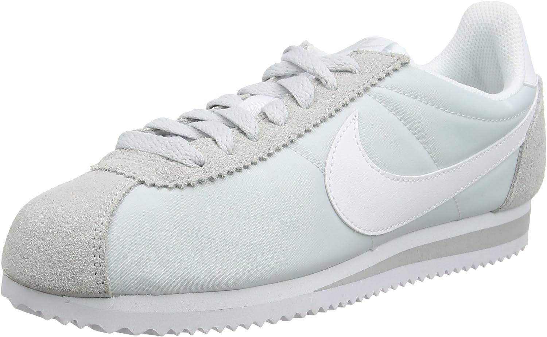 Nike Damen WMNS Classic Cortez Nylon Laufschuhe, Eisfarben