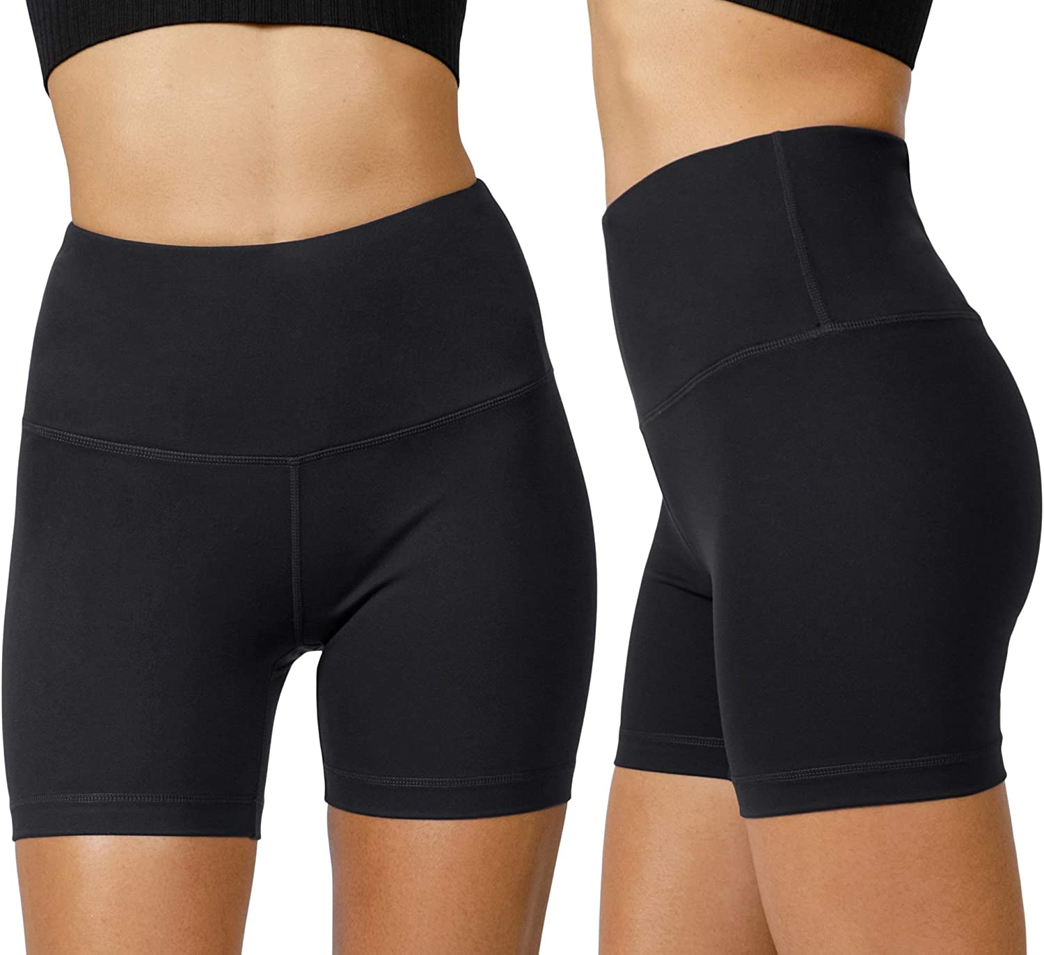 Yogalicious Lux quality assurance High Waist Squat Proof - Free shipping anywhere in the nation Biker Short 5