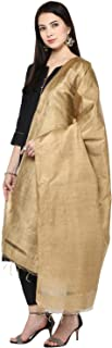 Smooth Solid Coloured Cotton Silk Dupatta