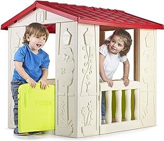 FEBER Happy House - Maison de jeux pour enfants de 2 à 6 ans (Famosa 800012380)