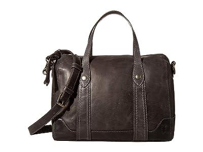 Frye Melissa Double Handle Satchel (Carbon) Handbags