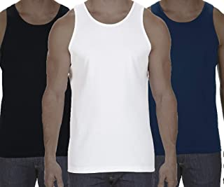 Alstyle Apparel Men Tank Top 3-Packs Assorted or Mixed Color