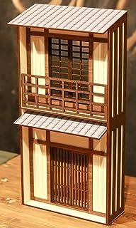 1/10スケールドールハウス和風2階建張りぼて