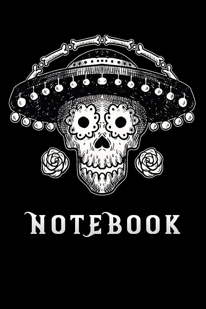 チョーク高度ウイルスnotebook: day of the dead mexico Funny cinco de mayo Lined Notebook / Diary / Journal To Write In 6