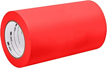 TapeCase 3M 3903 34in X 15YD Red Red Red Vinyl/Rubber Adhesive Converted from 3M Duct Tape 3903, 12,6 psi treksterkte, 50 ...