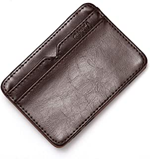 Credit Card Minimalist Wallets Leather Wallet
