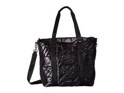 Timbuk2 Parcel Tote (Jet Black Quilted) Tote Handbags