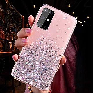 حافظة هاتف شفافة بصورة النجمة المتلألئة، لـ Oppo A9 A5 A53 A92S A52 A92 A91 F15 A8 A31 A72 5G 2020 A11X A1 A1K