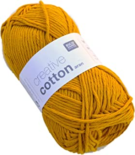 Rico Creative Cotton Aran 70 Mustard