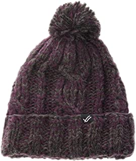 Chunky Cable Knit Hat with Pom Pom by Justin Timberlake Unisex Winter Slouch Beanie Hat