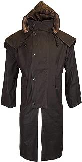 Best long waxed cotton coat Reviews