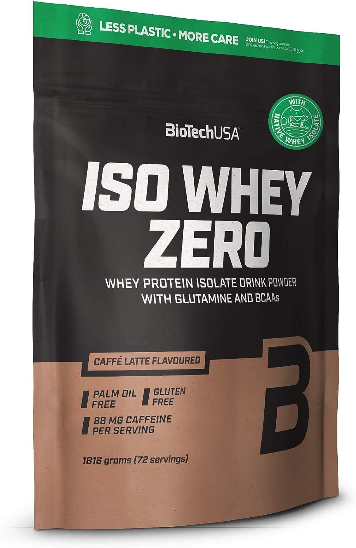 BioTechUSA Iso Whey Zero, 1.816 kg, Plátano
