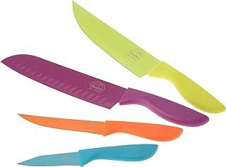 Pradel Jean Dubost 1/10300 4 Couteaux de Cuisine Assortis