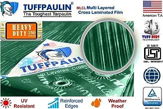 TUFFPAULIN Waterproof UV Treated Tarpaulin (24 X18 ft , Green)