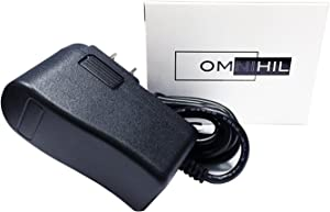 Omnihil 8 Feet AC/DC Power Adapter Compatible with Pioneer DJ Remix Stations RMX-1000, RMX-500