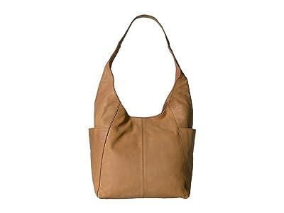 Lucky Brand Patti Shoulder (Walnut 1) Handbags