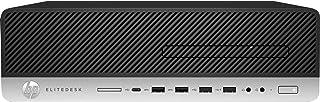 HP EliteDesk 800 G3 - SFF - 1 x Core i7 7700 / 3.6 GHz - RAM 16 GB - SSD 512 GB - NVM Express (NVMe), triple-level cell (T...