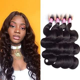 FQ Brazilian Body Wave Human Hair 4 Bundles 24