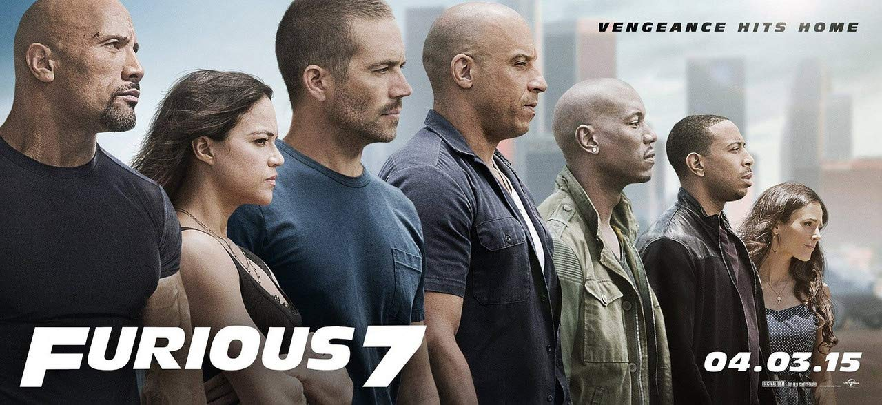 Posterpot Movie Furious Fast & Furious Jordana Brewster Mia Toretto Tyrese Gibson Roman (Plastic Media Poster, 36X24 Inches, Rolled, Multicolor)