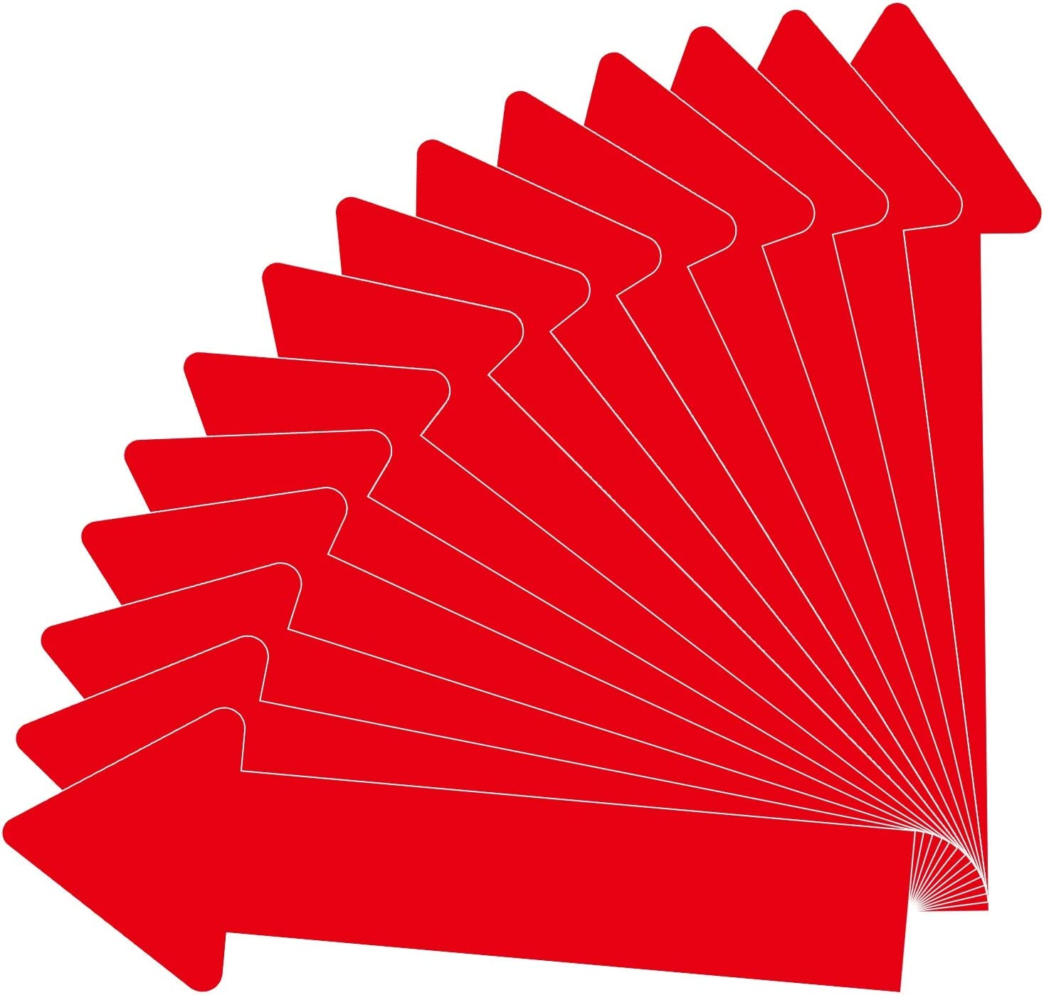 30 Pack 12 Inch Arrow Decals Outlet SALE Floor Deluxe Wall Removable Stickers A for