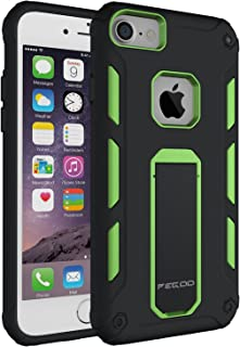 Case for iPhone 6s, [iPhone 7 iPhone 6 iPhone 6s universal shell] Impact Resistant Heavy Duty ShockProof Rugged Impact Armor Hybrid Kickstand Protective Cover Case for iPhone 7 / 6 / 6s (4.7) (Green)