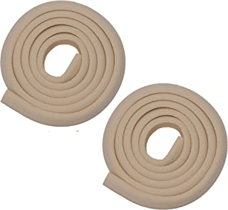 Store2508 Child Safety Strip Cushion with Strong Fibreglass Tape for Baby Safety Child Proofing (2 Rolls) (Ivory)