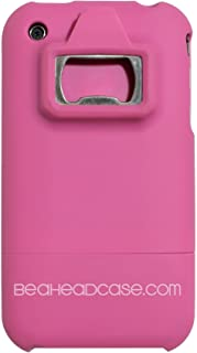 Bottle Opener Phone Case for iPhone 3G/3GS- Pink - FREE APP