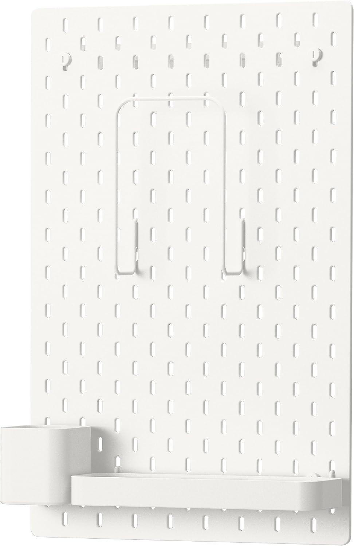 Ikea Pegboard Combination, White 14 ¼x22