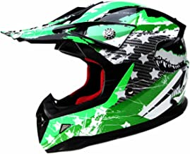 Motocross Youth Kids Helmet DOT Approved – YEMA YM-211 Motorbike Moped Motorcycle..