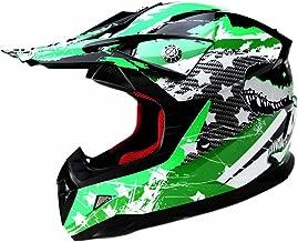 Motocross Youth Kids Helmet DOT Approved - YEMA YM-211 Motorbike Moped Motorcycle Off Road Full Face Crash Downhill DH Four Wheeler Helmet for Street Bike Dirt Bike BMX ATV Quad MX Boys Girls, Large