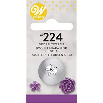 Wilton Decorating Tip, No.224 Drop Flower