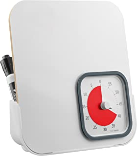 Time Timer MOD with Dry Erase Board, 60 minute Analog Visual Countdown Timer and Whiteboard set