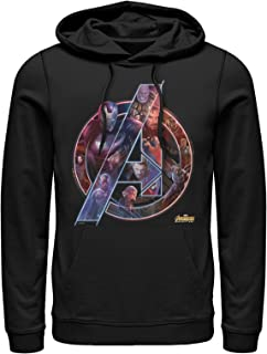 Marvel Men's Avengers: Infinity War Logo Hoodie
