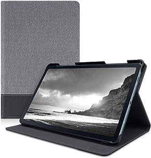 kwmobile 対応: Samsung Galaxy Tab S6 Lite ケース - タブレットケース スタンド カバーケース - キャンバス デザイン