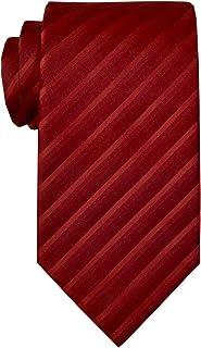 Remo Sartori - Cravatta in Pura Seta Satinata Regimental Tono su Tono, Made in Italy, Uomo