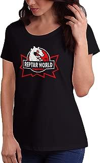 LeRage Reptar World Jurassic Park Rugrats '90s Shirt Women's