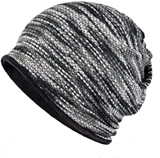 Colorful Beanies Chemo Caps Cancer Headwear Skull Cap Knitted hat Scarf for Womens Mens