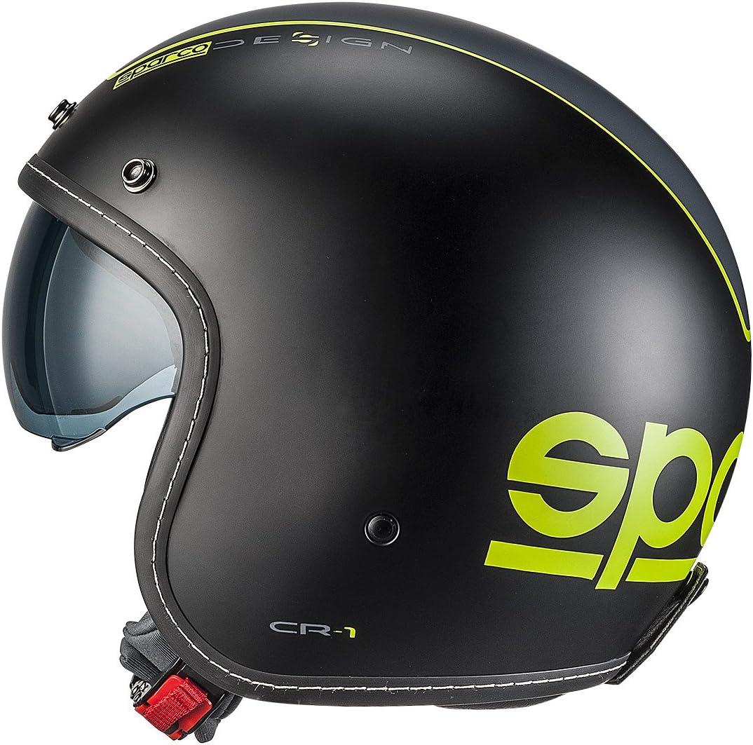 Sparco 0033400xsnrgf Cr 1 Helmet Black Xs Auto