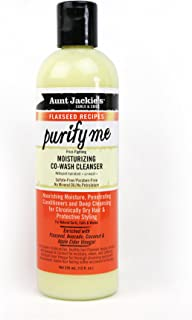 Aunt Jackies Flaxseed Recipes Purify Me Moisturizing Co-wash Cleanser