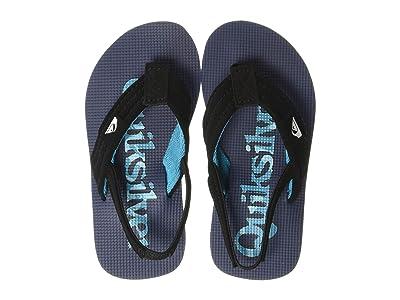 Quiksilver Kids Molokai Layback (Toddler) (Black/Grey/Blue) Boys Shoes