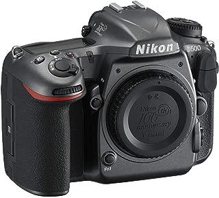Nikon D500 DSLR Camera 100th Anniversary Edition (Body Only), Black