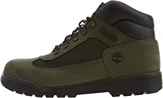 Timberland Field Boot Big Kids Shoes Dark Green tb0a1y8z