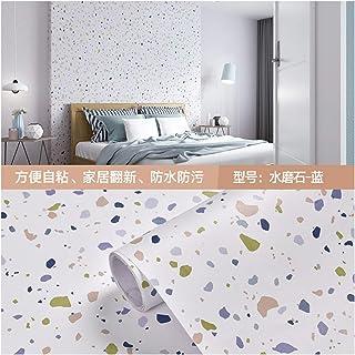 الحد الأدنى الحديث تنقش لفة خلفية Terrazzo PVC Waterproof Self Adhesive Wallpaper for Living Room Kids Bedroom Decor Vinyl...